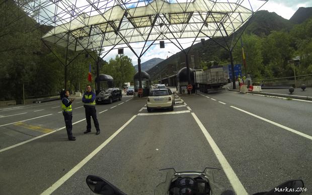 Andorra borders
